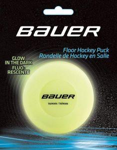 Bauer FLOOR Glow in the Dark (carded) Inline Puck