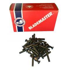 Blademaster Steel rivets BLK 3/8 Rivets