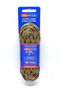 Tex Style Non Waxed Molded 1812MT Skate Laces