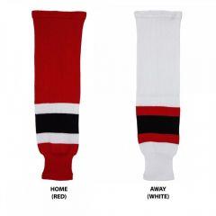 Hockey Socks Knit New Jersey Devils Youth