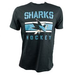 47 Brand Echo NHL San Jose Sharks Senior T-Shirt