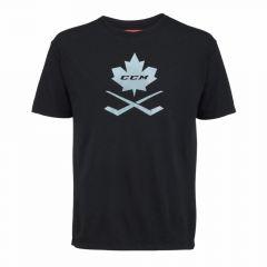 CCM Blackout Leaf Senior T-Shirt
