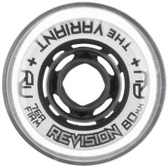 Revision VARIANT CLASSIC WHITE 80MM/76A FIRM Inline Skate Wheels